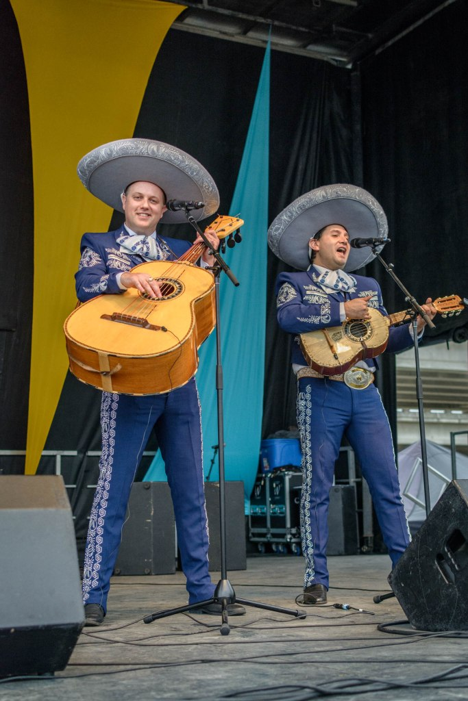 Mariachi singers at the 2019 Vancouver Latin Festival.