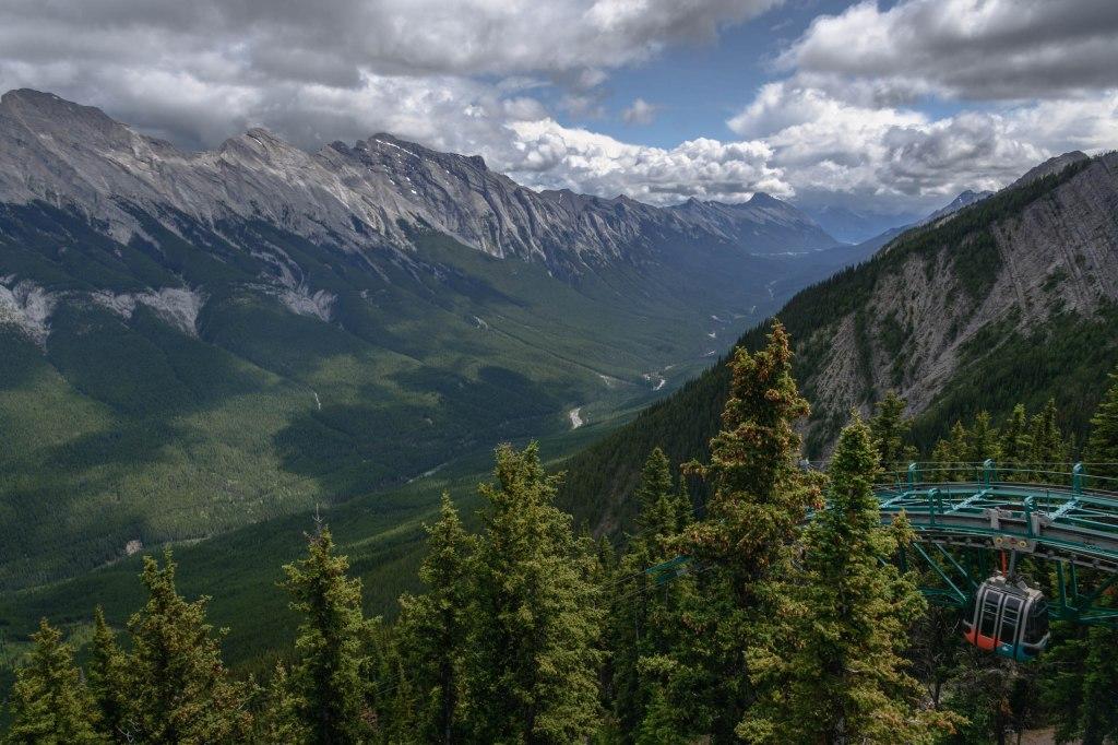 Banff, Canada gondola.