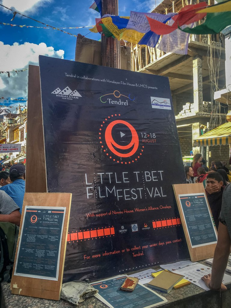 Posters for the Little Tibet Film Festival.